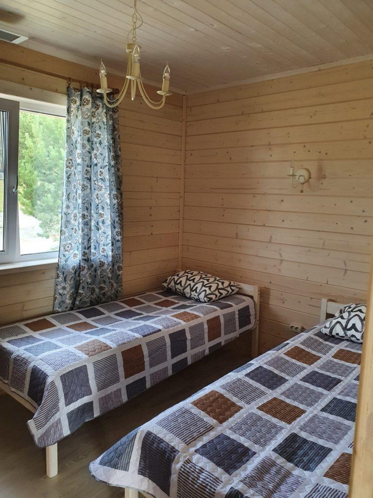 Коттедж № 5 и № 6 с двумя спальнями